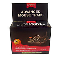 Rentokil Advanced Mouse Traps - 2 Pack