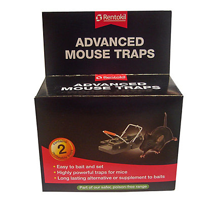 Image for Rentokil Advanced Mouse Traps (Pack of 2) from StoreName