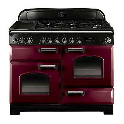 Image for Rangemaster Classic Deluxe 84420 110cm Dual Fuel Cooker - Purple from StoreName