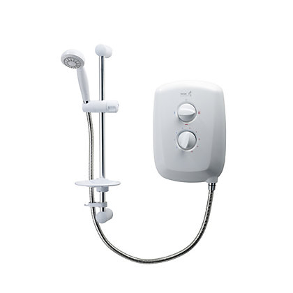 Image for Triton Ivory 4 10.5kw White Electric Shower from StoreName