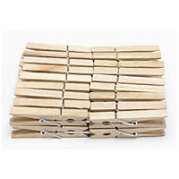 Wooden Pegs - 36 Pack