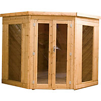 Mercia Corner Summerhouse - 7ft x 7ft