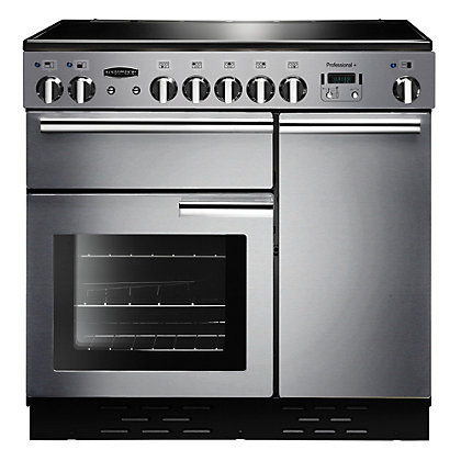 Image for Rangemaster Professional Plus 85850 90cm Electric Cooker - Silver from StoreName