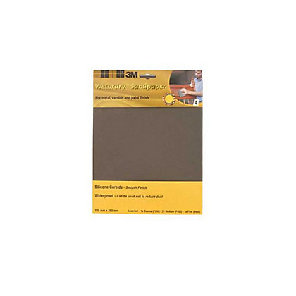 Image for 3M Wet or dry 9085CC Sheets P600 - Extra Fine- 4 pack from StoreName