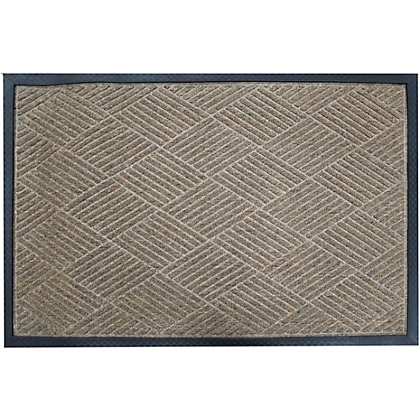 Image for Small Barrier Doormat Brown 40x60cm from StoreName