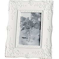 Home of Style Scroll Photo Frame - 4 x 6in