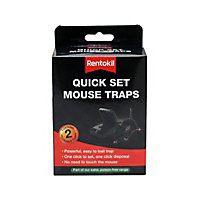 Rentokil Quick Set Mouse Traps (Pack of 2)
