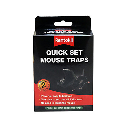 Image for Rentokil Quick Set Mouse Traps - 2 Pack from StoreName