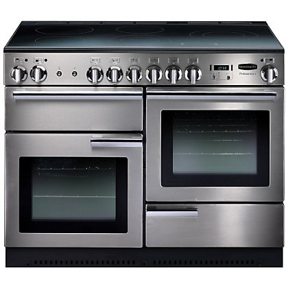 Image for Rangemaster Professional Plus 85310 110cm Electric Cooker - Silver from StoreName