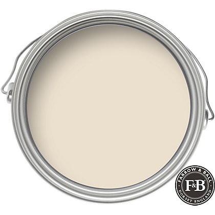 Image for Farrow & Ball Eco No.1 Lime White - Exterior Eggshell Paint - 2.5L from StoreName