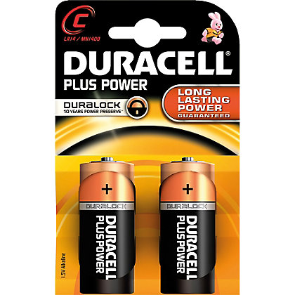 Image for Duracell Power Plus MN1400 C K2 Battery from StoreName