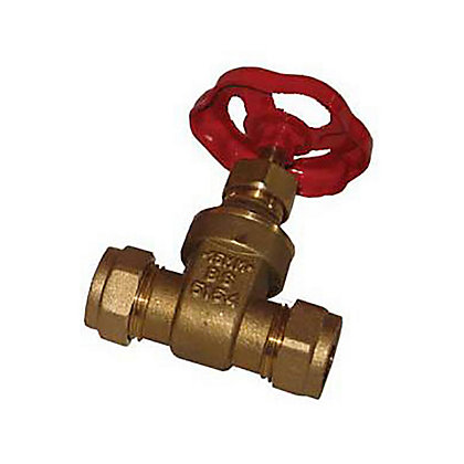 Image for Gatevalve - Brass - 22mm from StoreName