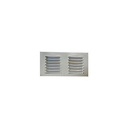 Image for Louvre Vent - 229 x 152mm - Chrome from StoreName