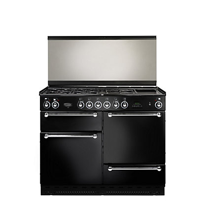 Image for Rangemaster 110cm FSD Natural Gas Range Cooker - Black from StoreName