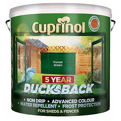 Image for Cuprinol Ducksback - Forest Green - 9L from StoreName