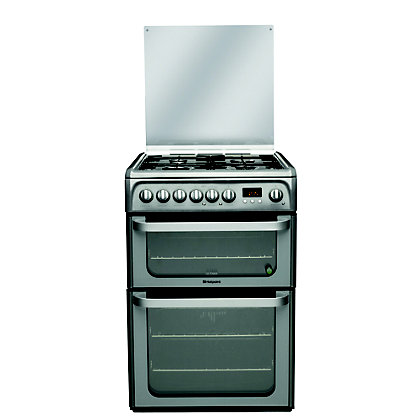 Image for Hotpoint Ultima HUD61G S Freestanding Cooker - Graphite from StoreName