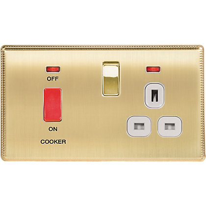 Image for Laura Ashley 45A Cooker Control Unit - Brushed Brass from StoreName