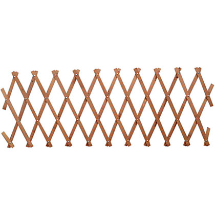 Image for Wooden Expanding Trellis - Brown - 1.8x0.3m from StoreName