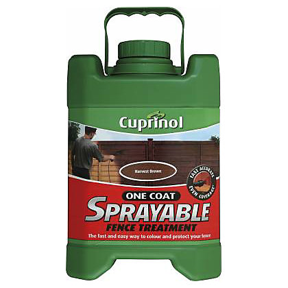 Image for Cuprinol Sprayable Harvest Brown - 5L from StoreName