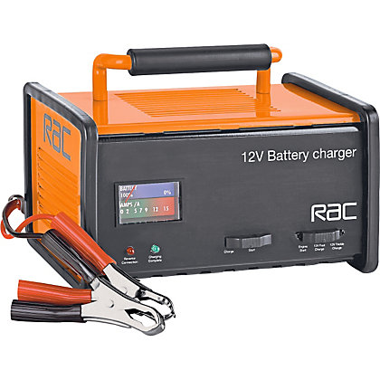 Image for RAC 12V Automatic Car Battery Charger. from StoreName