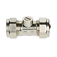 Isolation Valve Compression Fitting - 15mm