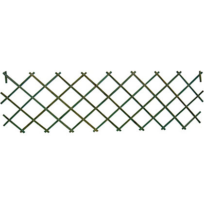 Image for Wooden Expanding Trellis - Green - 1.8x0.6m from StoreName