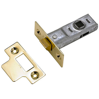 Image for Yale Tubular Latch 76mm / 3 inches - Brass from StoreName