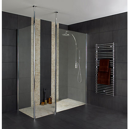 Image for Wet Room Panel - Clear Glass - 700 x 2000mm from StoreName