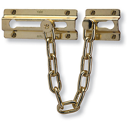 Image for Yale Door Chain - Brass from StoreName