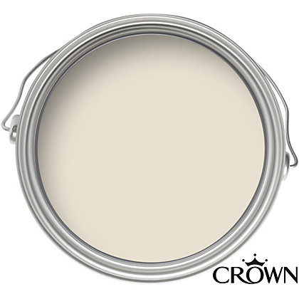 Image for Crown Breatheasy Antique Cream - Non Drip Satin Paint - 750ml from StoreName