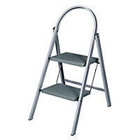 Abru Stepstool 2 Step - Grey