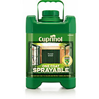 Cuprinol Sprayable Forest Green - 5L