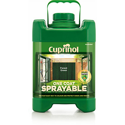 Image for Cuprinol Sprayable Forest Green - 5L from StoreName