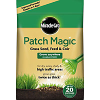 Miracle-Gro Patch Magic Grass Seed, Feed & Coir Medium Bag - 1.5kg