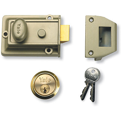 Image for Yale 77 Traditional Nightlatch 60mm - Green from StoreName