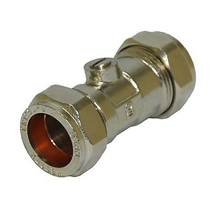 Image for Compression Fitting Isolation Valve - 22mm from StoreName
