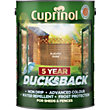 Cuprinol Ducksback Timbercare - Autumn Gold - 5L