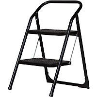 Abru Stepstool 2 Step - Black