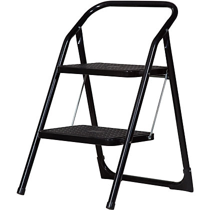 Image for Abru Stepstool 2 Step - Black from StoreName
