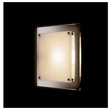 Image for Square 2 Tier Flush Light from StoreName