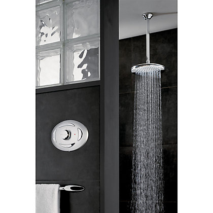 Image for Triton Digital Mixer Shower With Fixed Showerhead - Pumped from StoreName