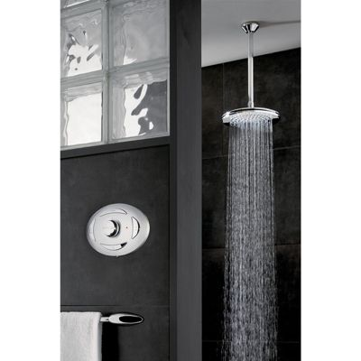 Triton Digital Mixer Shower With Fixed Showerhead - Pumped