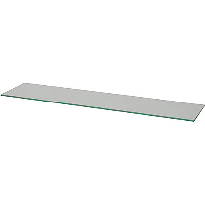 Image for Duraline Glass Rectangular Shelf - 80cm from StoreName