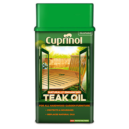 Image for Cuprinol Oil - Teak - 1L from StoreName