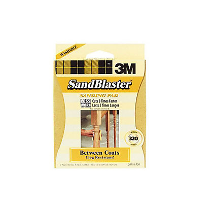 Image for 3M Sandblaster Large Sanding Pad - Between Coats from StoreName