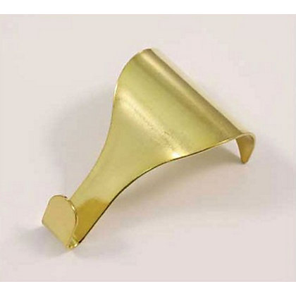Picture Rail Hook Brass 2 Pack