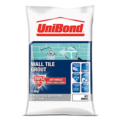 Image for UniBond Anti Mould Grout White - 1.5Kg from StoreName