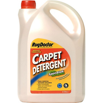Image for Rug Doctor Carpet Detergent with Spotblok - 4L from StoreName