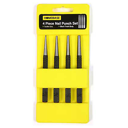 Image for Nail and Hole Punch Set - 4 Pieces from StoreName