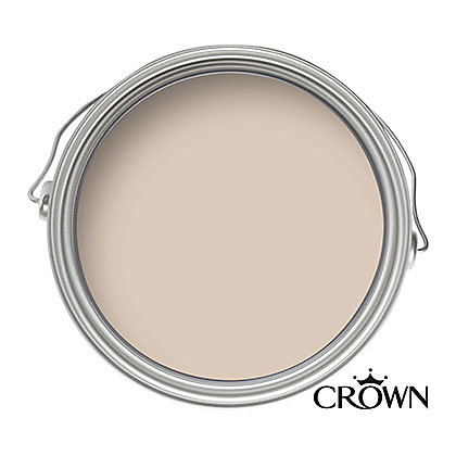 Image for Crown Fashion For Walls Fawn Suede - Suede Matt Emulsion Paint - 125ml Tester from StoreName